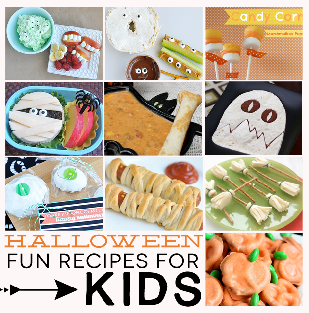 Fun Recipes For Kids For Halloween Happy Halloween