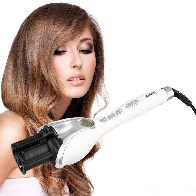 متجر لقطة Loqta Ps مكواة شعر كيمي اوتوماتيك لخصل كيرلي Km 9600 Hair Curlers Rollers Hair Waves Hair Curlers
