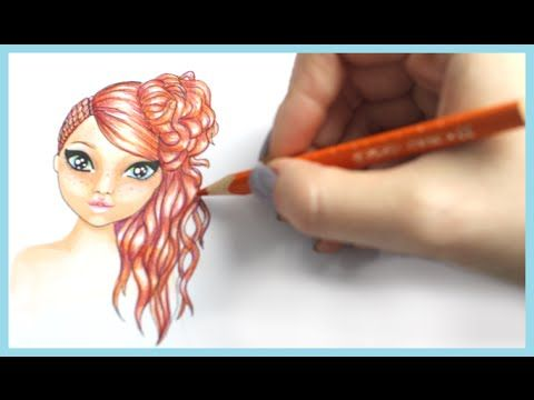 Topmodel Malbuch Malen Lernen Deutsch Biz Bilder Malen Drawing Tutorial How To Draw Hair Frisur Male Drawing Tutorial How To Draw Hair Foxy
