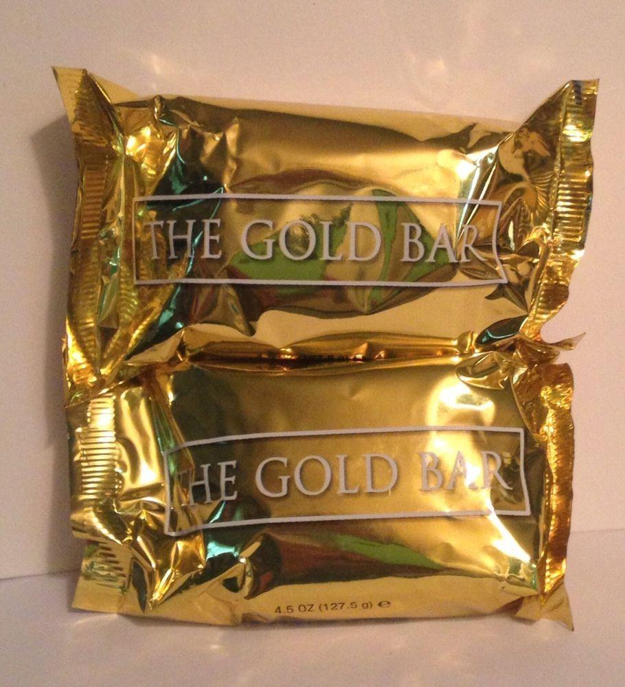 Melaleuca The Gold Bar Citrus Glycerin Bath Soap (2) 4.5oz