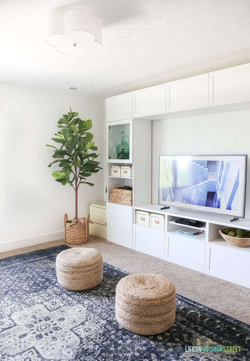 The Frame from Samsung: A Game Changer | Fig tree, Poufs and Sisal