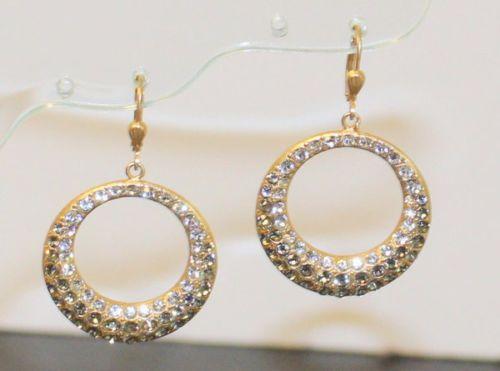 Catherine Popesco  La Vie Parisienne NWT Pave Earrings Blk Dd Swarovski Crystals - http://designerjewelrygalleria.com/catherine-popesco/catherine-popesco-la-vie-parisienne-nwt-pave-earrings-blk-dd-swarovski-crystals/