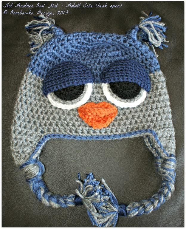 Not ANOTHER Owl Hat! (Child - Adult) pattern on Craftsy.com | MUÑE ...