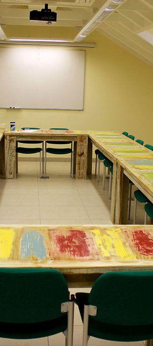 Living Green furniture in schools