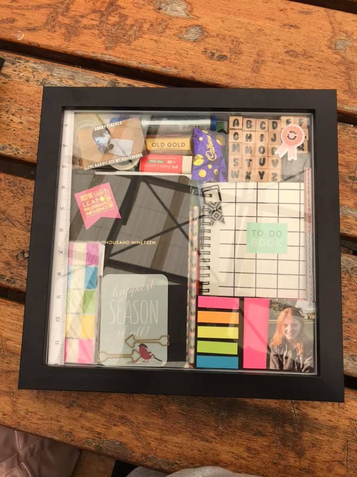 Pin By Kate Gamble On Kmart Ideas Hacks Shadow Box Gifts Shadow Box Shadow Box Frames