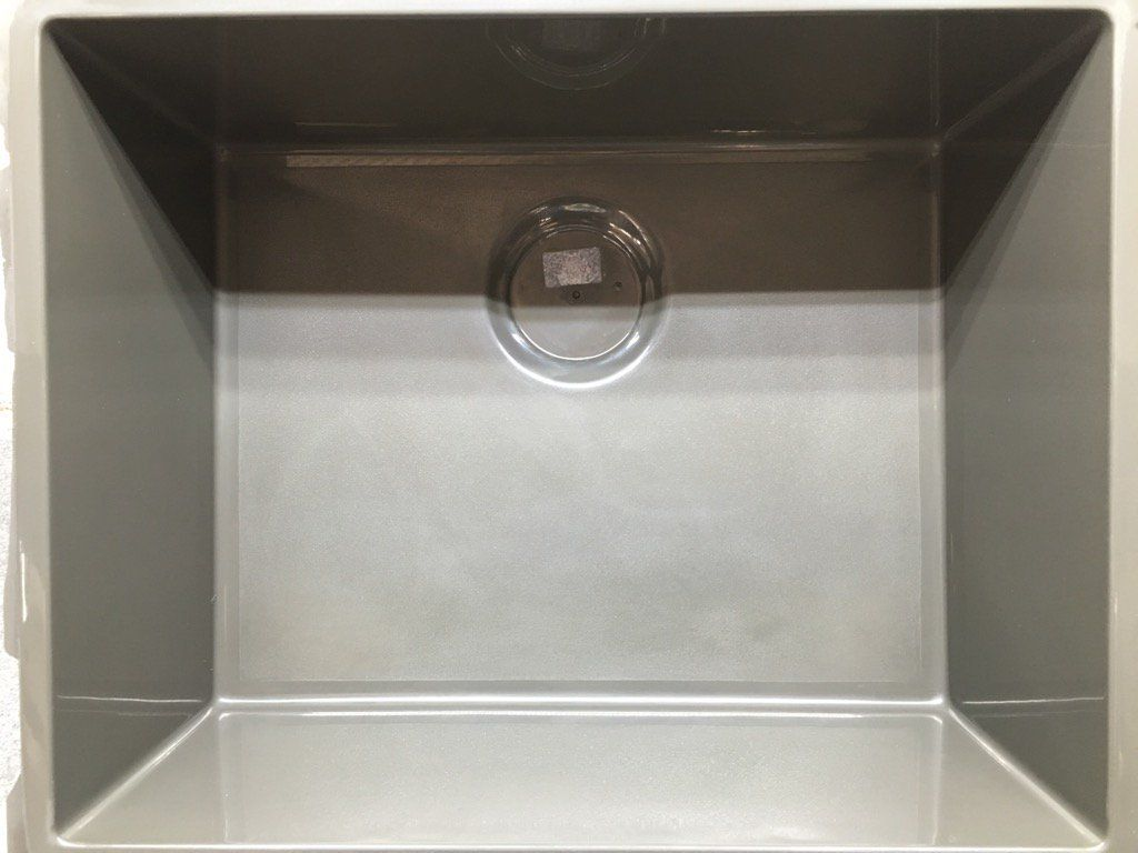 sink RAL 7022 | Fregaderos sintéticos de cocina | Pinterest ...