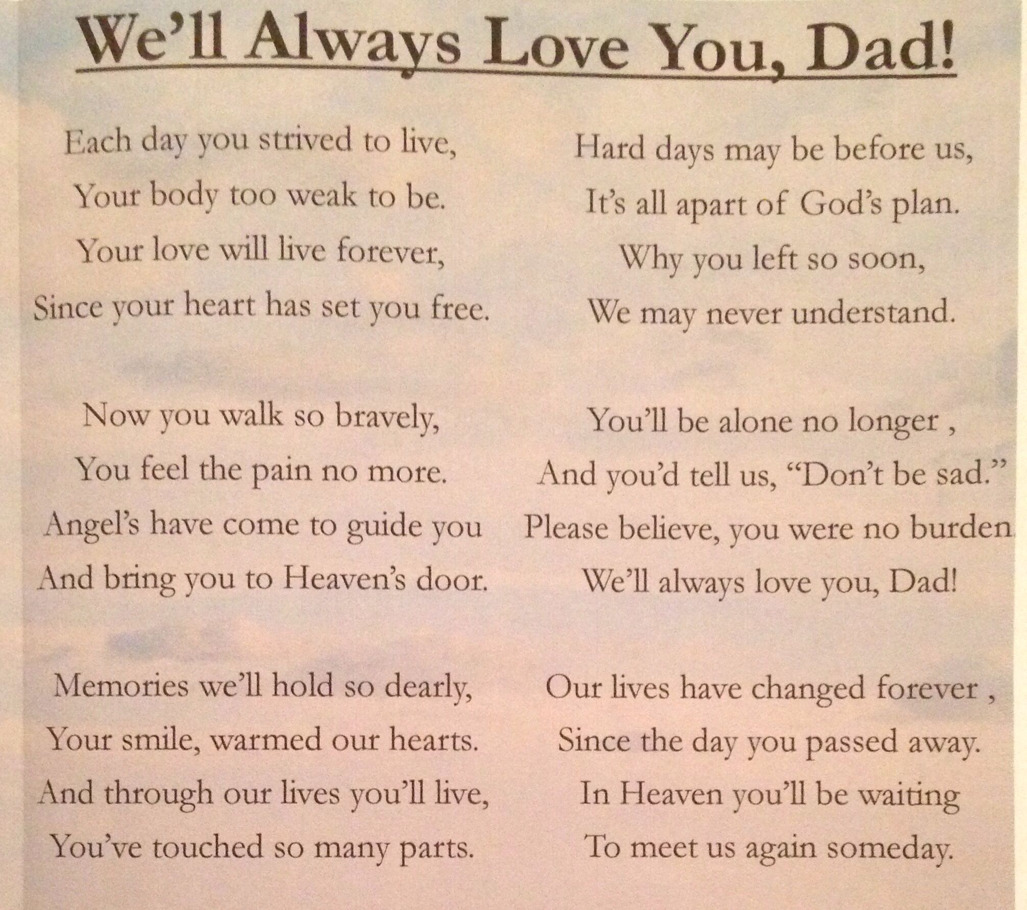 fathers day quotes to dad from daughter