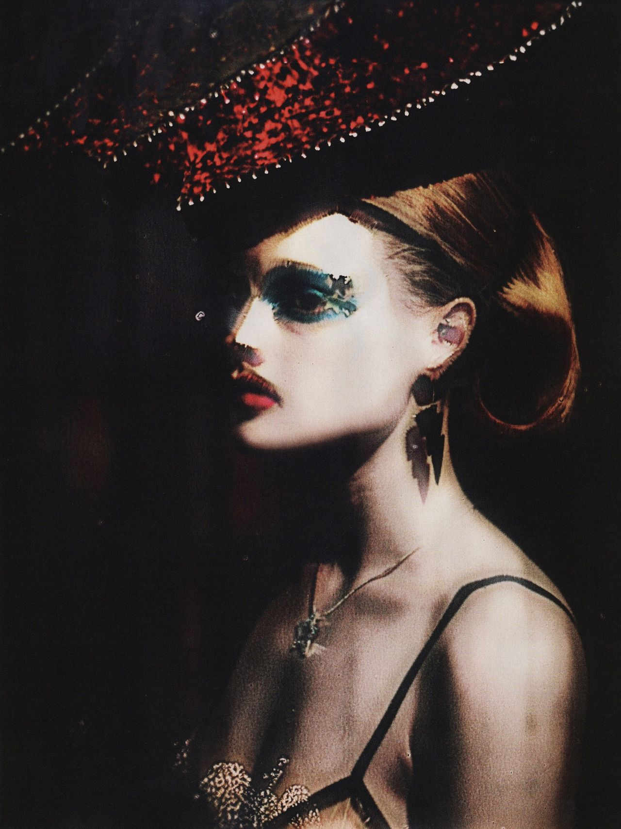 Guinevere Van Seenus by Paolo Roversi for Vogue UK June 2009
