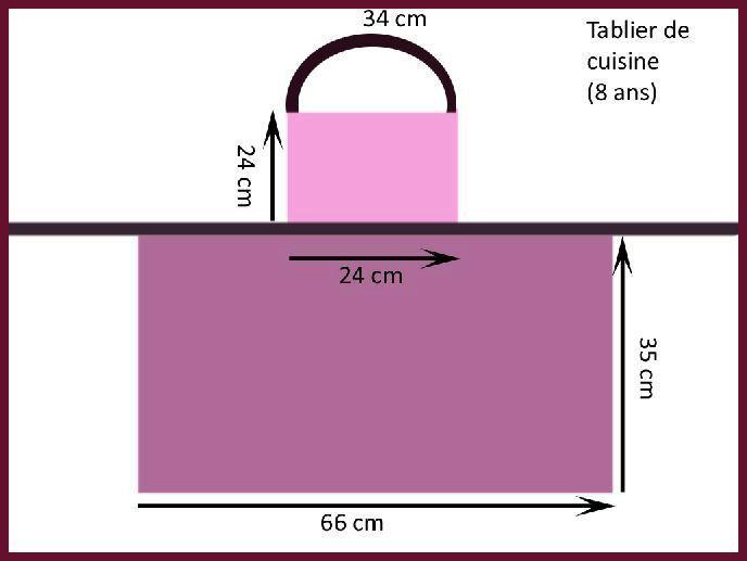 patron couture tablier   Mutfak Önlüğü   Sewing, Apron et Couture
