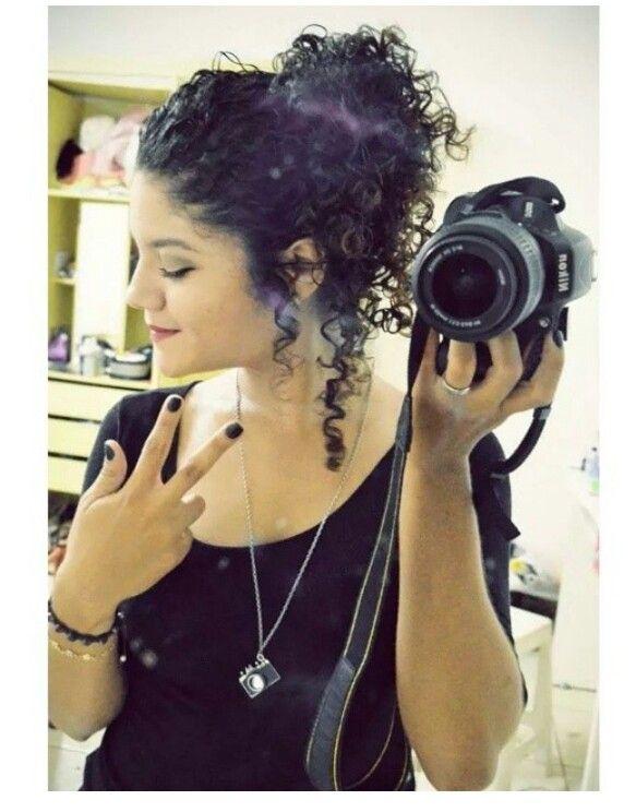 Peinado para cabello rizado  – Peinados