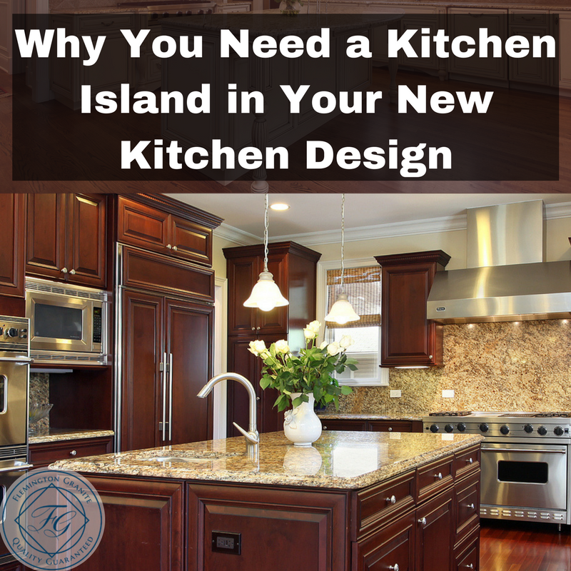 Why You Need a Kitchen Island in Your New Kitchen Design | Bathroom ...