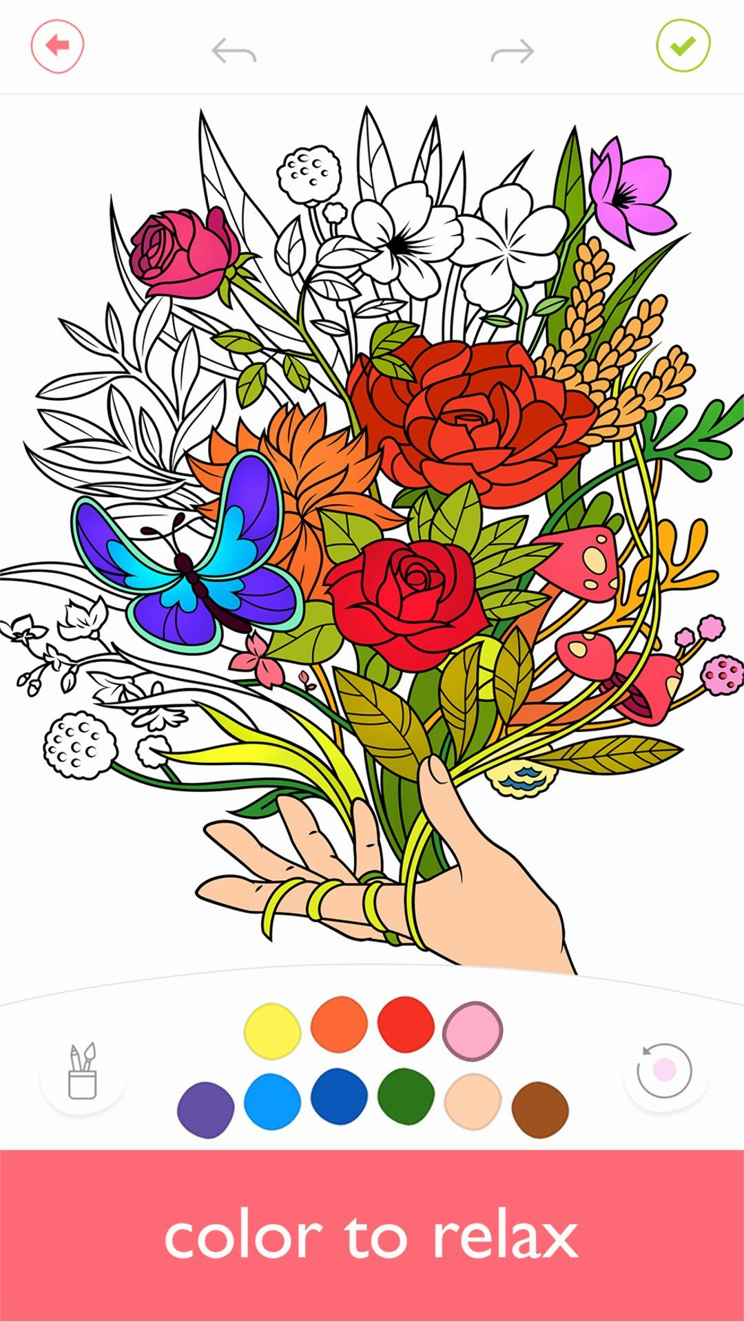 Free Coloring Games Online Beautiful Colorfy Free Colouring Book For Adults Best Colouring In 2020 Coloring Book App Coloring Books Cartoon Coloring Pages
