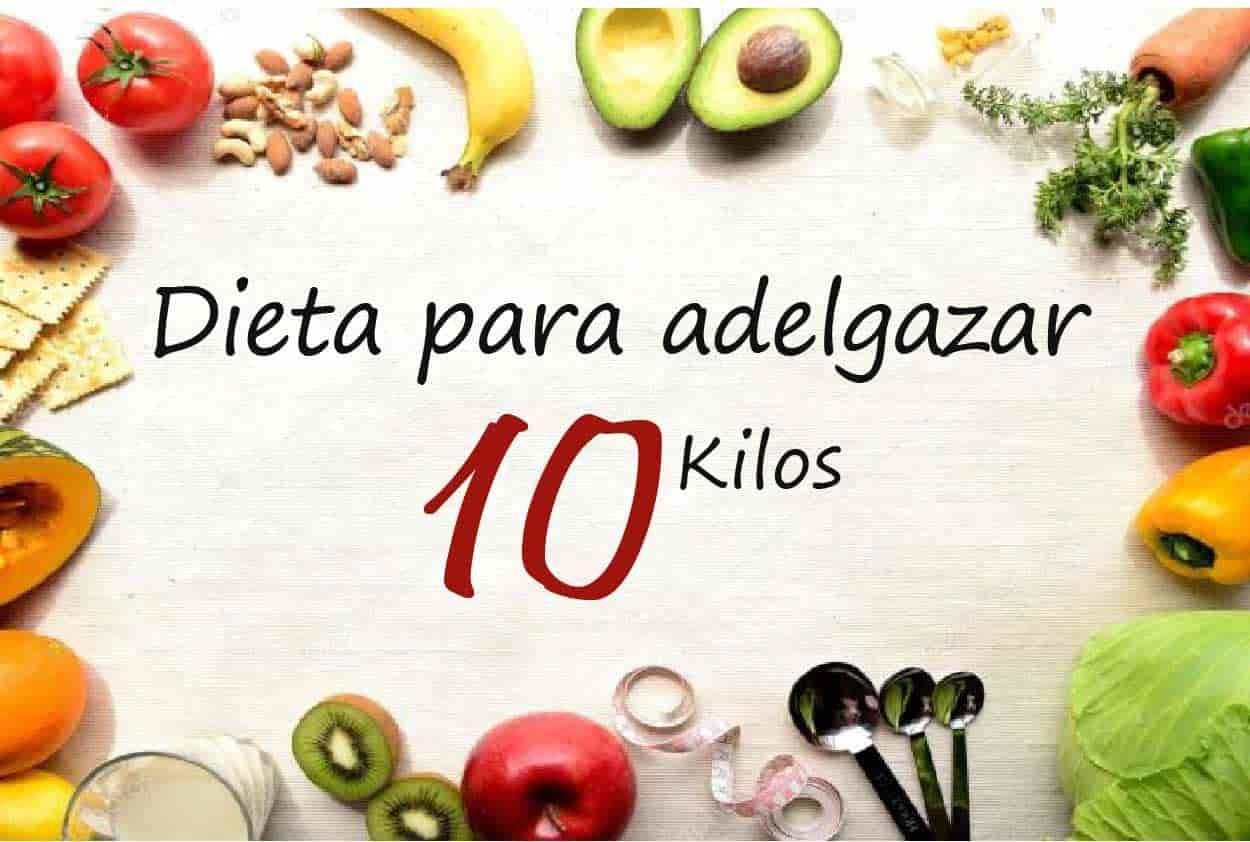 【Dieta para Adelgazar 10 Kilos】Adelgaza 10 kg en 1 Mes!