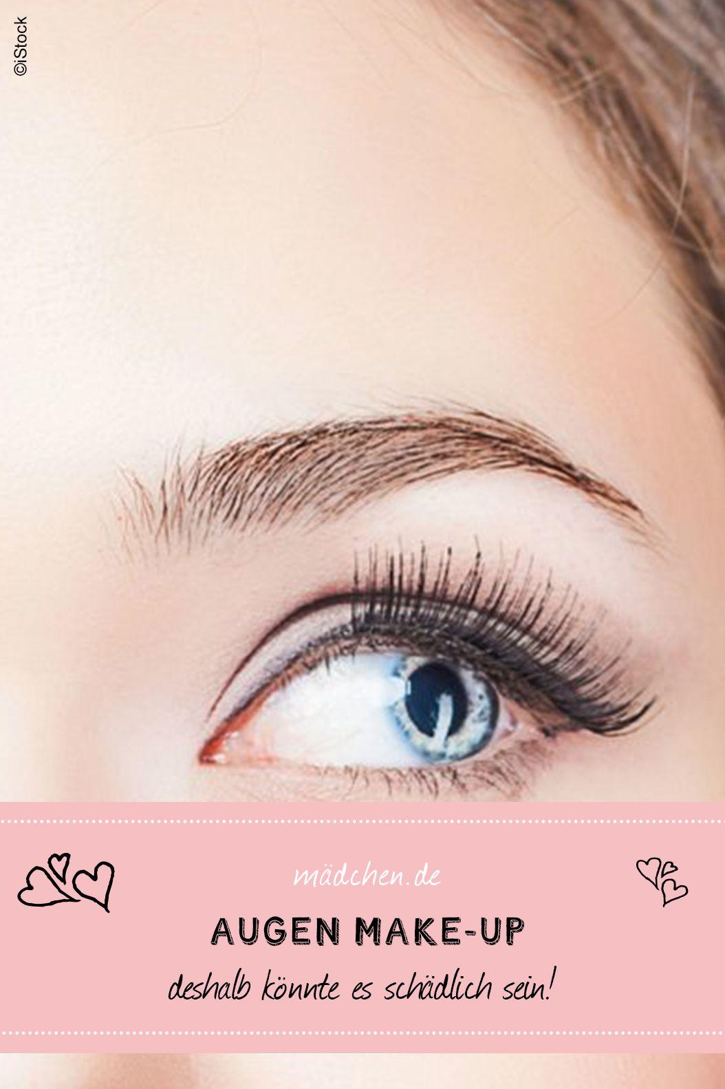 Augen Make Up Achtung Schadlich Make Up Augen Make Up Und Wimpern