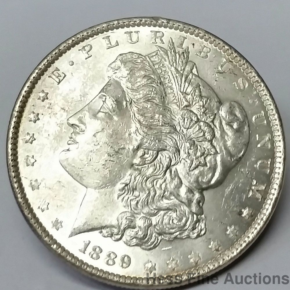 1889 Liberty United States Morgan Silver Dollar American Coin One Dollar 1 Morgan Silver Dollar Silver Dollars For Sale American Coins