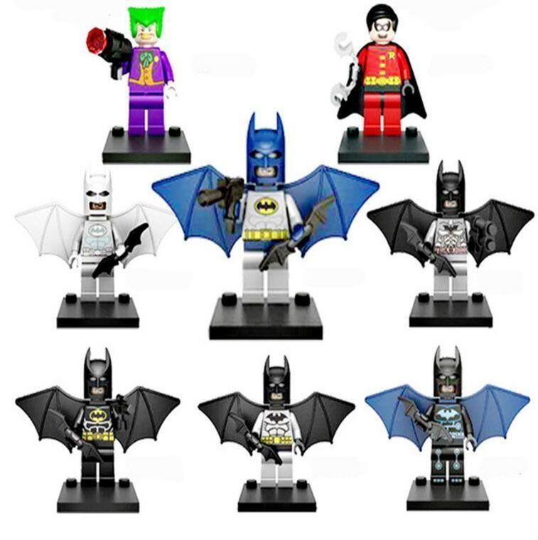 Joker Robin Batman Minifigures Lego Compatible Toys Dc Batman Movie In 2020 Batman Sets Lego Batman Robin Joker