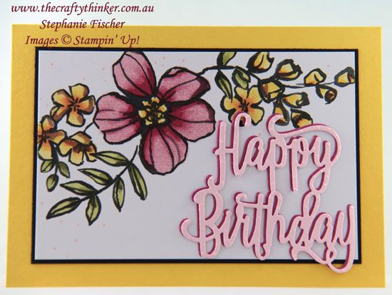 Petal Passion Happy Birthday Stamping Up Pinterest Happy