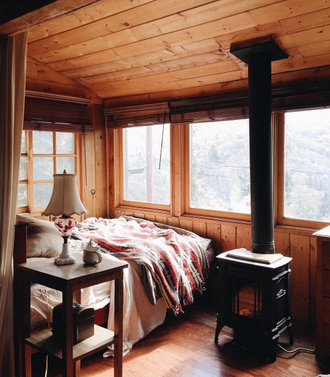 Modern Cozy Mountain Home Design Ideas | Cabin interiors ...