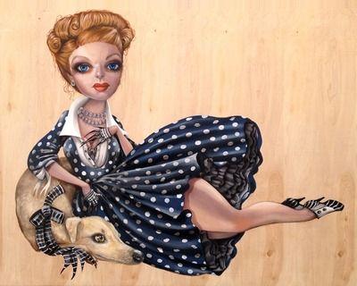 I heart Lucille - Print