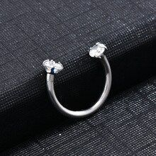 2019 Lovely Piercing Septo Nose Lip Ear Septum Cartilage Captive Hoop Ring Jewelry Pendientes Trag  Nose piercing hoop