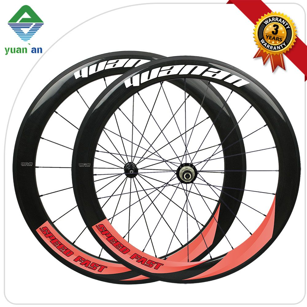 Chinese Oem Carbon Wheel 700c Road Bike Wheels Novatec 271 Hub 60mm