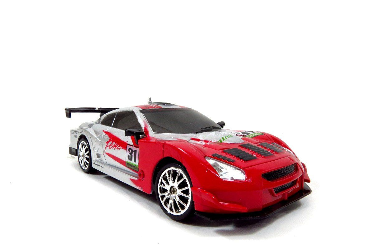 1 24 Super Fast Rc Drift Race Car Red Rc Drift Radio Controlled Cars Radio Controlled Boats