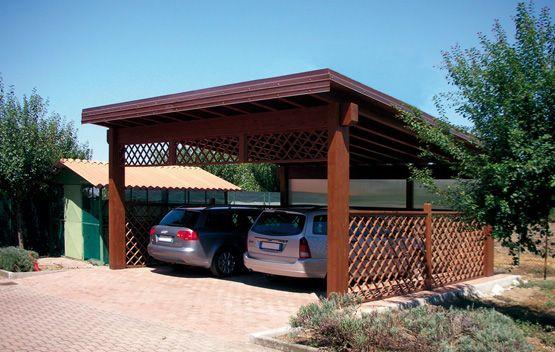 Carport Modello Base Spazioso Dimensioni Cm 600 X 610 Adatto Per