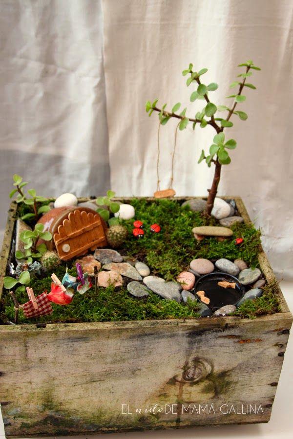 Un jard n de cuento de hadas diy plantas y jard n hadas for Bricolaje para jardin