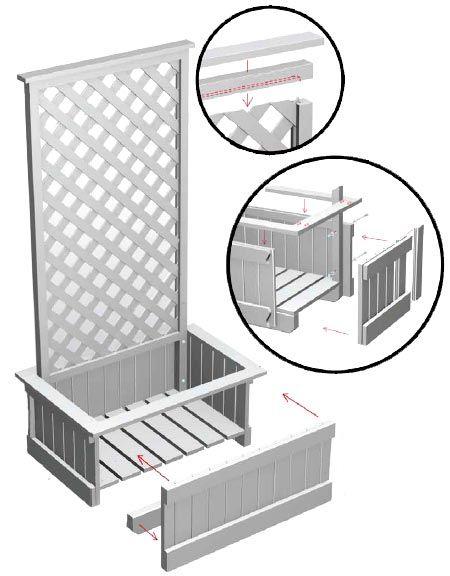 Home Dzine Make A Trellis Planter Box Want This To 400 x 300