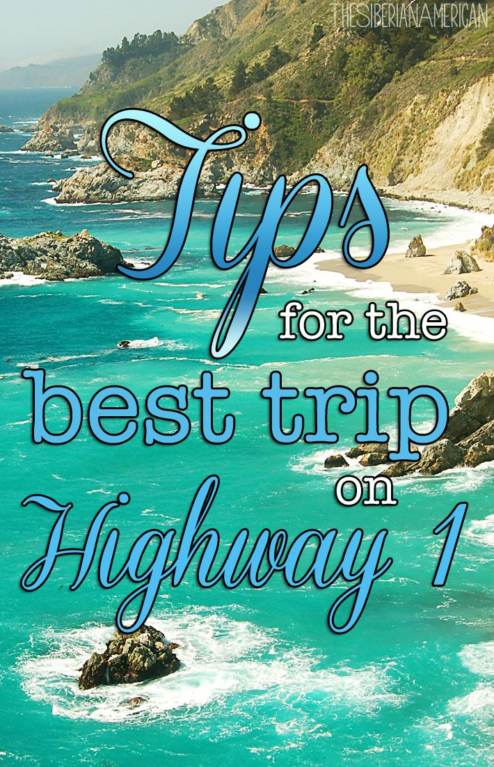 A complete guide to the best trip on the Pacific Coast Highway #westcoastroadtrip