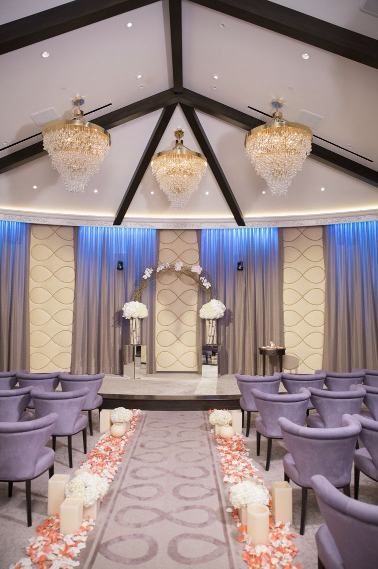 The Newest Addition To Mandalay Bay S Wedding Venues Pacific Balcony Chapel Engaged Gettingmarried Weddings Pinterest Chapels