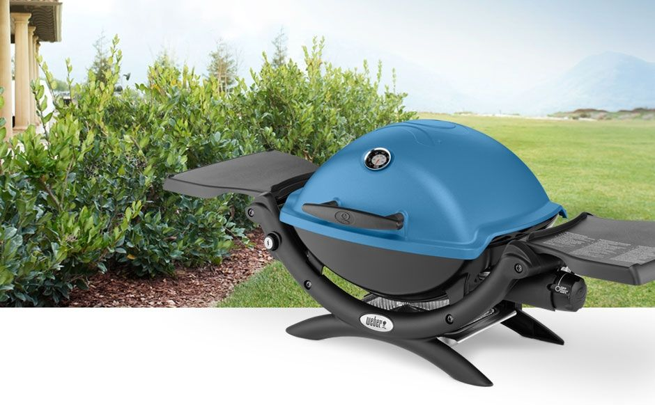 Q 1200 Portable Grill Tabletop To Tailgate Weber Grilling Gas Grill Portable Grill