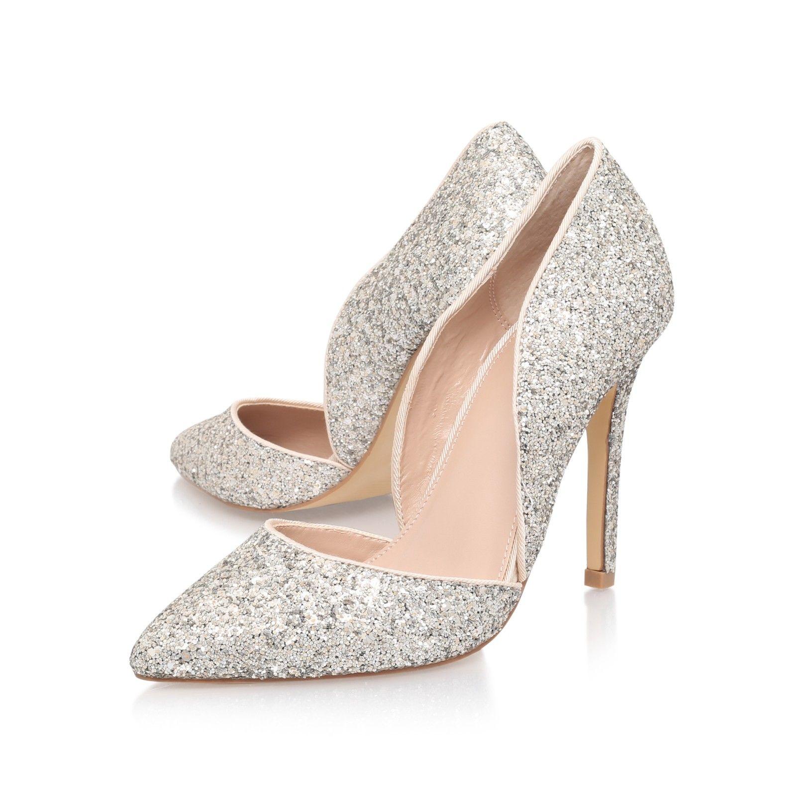 cf2c4241529 lexi silver high heel court shoes from Carvela Kurt Geiger | Shoe ...