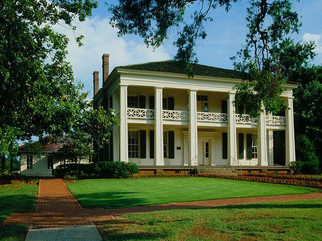 Birmingham arlington antebellum home garden by alabama for Civil war plantation homes for sale