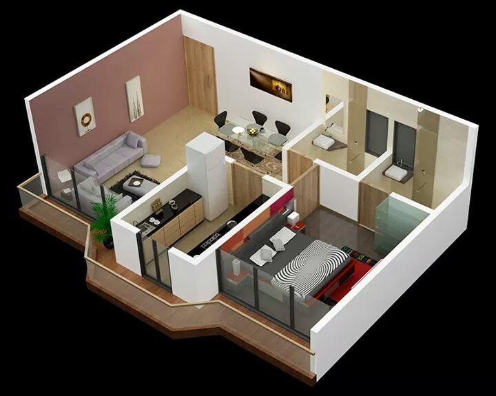 Pin de rachel tang en interior designs pinterest papa for Casa moderna maqueta