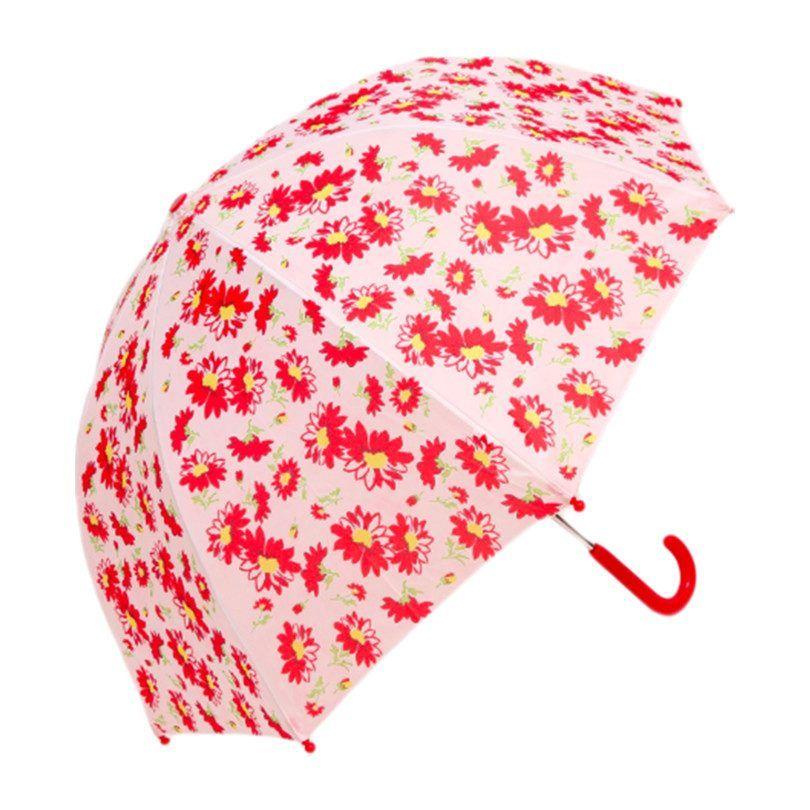 Umbrella, Red Flower - Kids Girl Accessories - Maisonette ...