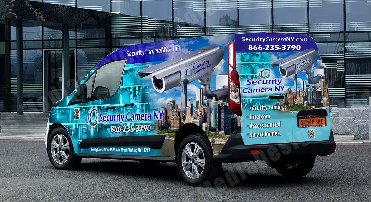 3D truck wrap design by David Bavati | Vehicle Wraps | Pinterest