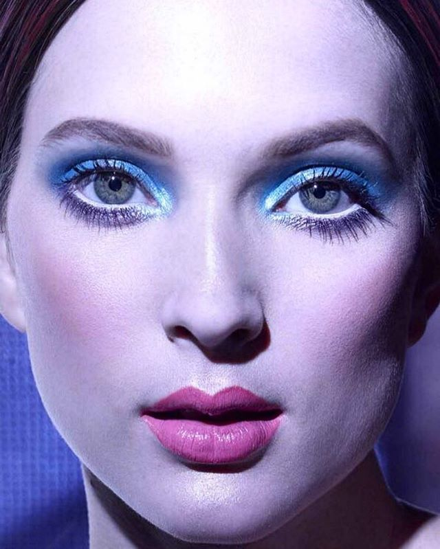 Amo azul!!!! #makeup que eu fiz para campanha #beautyfair2016 #belezacompartilhada @beautyfairprofissional modelo do ❤️ @vanessa_damasceno