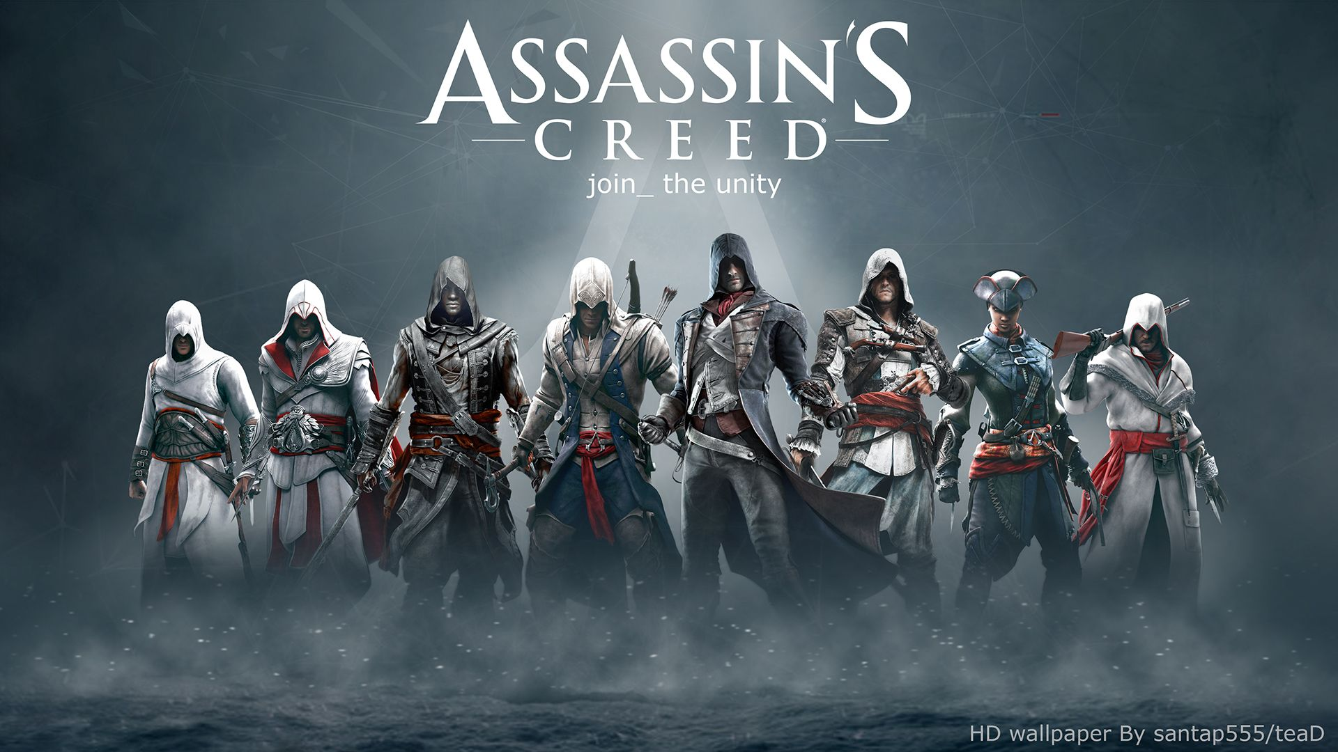 Assassin 39 S Creed Hd Wallpaper 4 By Tead By Santap555 On