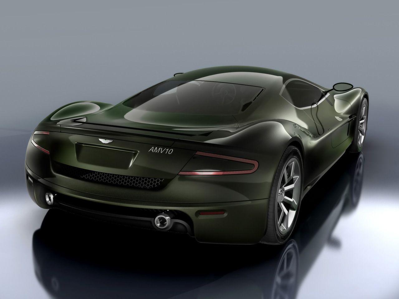 Great 2008 Sabino Design Aston Martin AMV10 Concept   Rear Angle 2   1280x960    Wallpaper