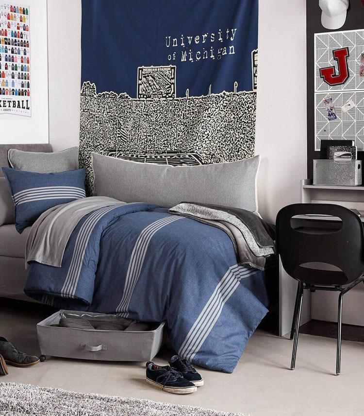 65 Cool Teenage Boys Room Decor Ideas + Designs (2020 ... on Teenage Room Colors For Guys  id=82902