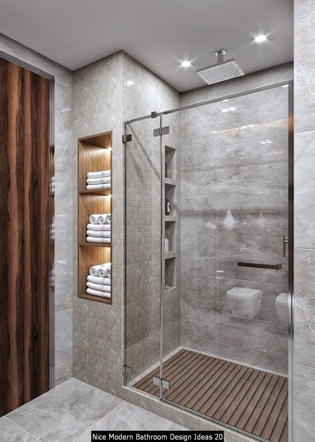 Nice Modern Bathroom Design Ideas In 2020 Small Bathroom Makeover Small Bathroom Remodel Bathrooms Remodel
