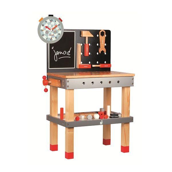 etabli en bois janod for kids etabli bois garage. Black Bedroom Furniture Sets. Home Design Ideas