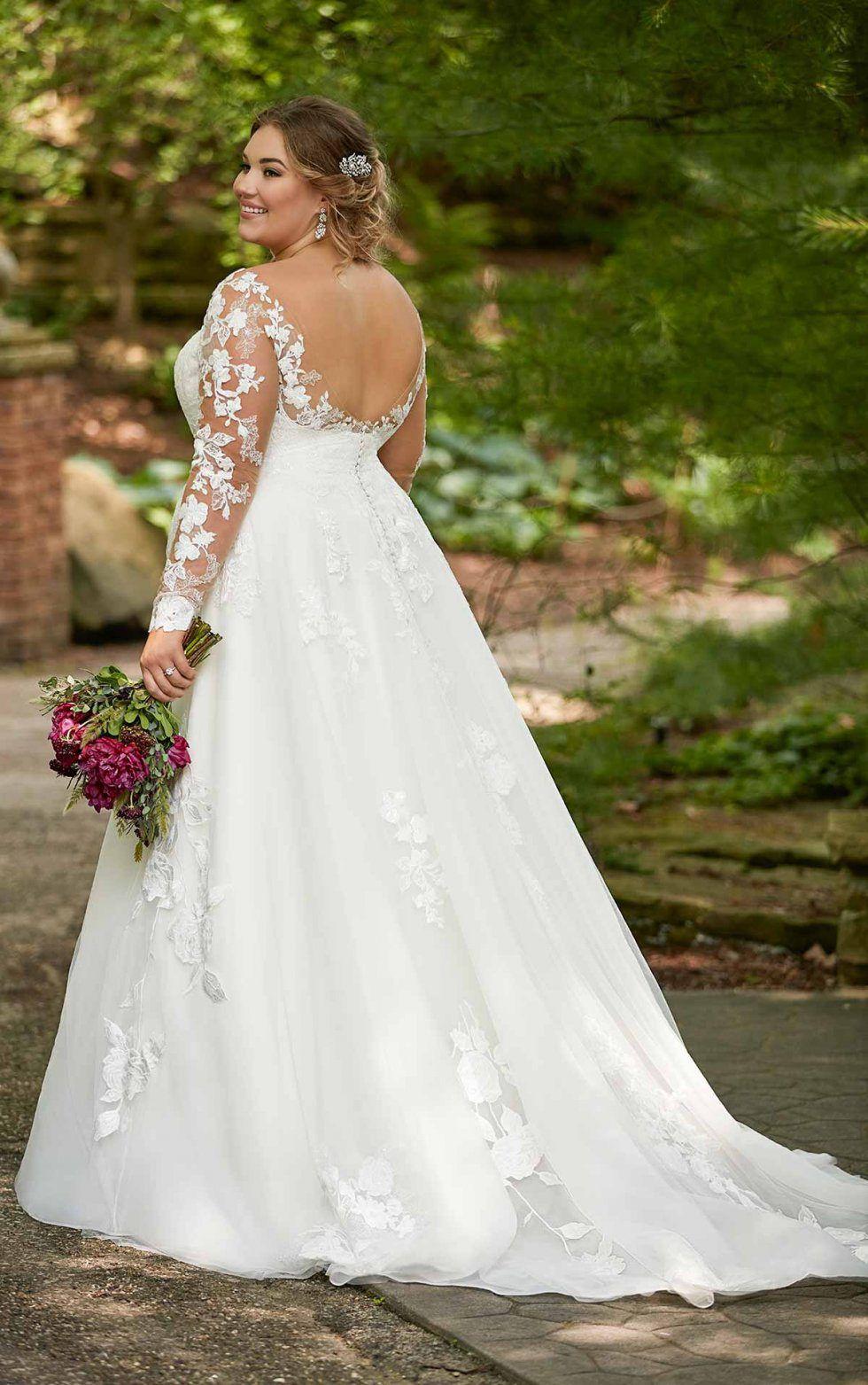 Long Sleeved Plus Size Wedding Dress Essense Of Australia Plus Size Wedding Gowns Wedding Dresses Essense Of Australia Wedding Dresses [ 1563 x 980 Pixel ]