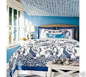Pottery Barn Ruched Duvet Cal King Bedding Home