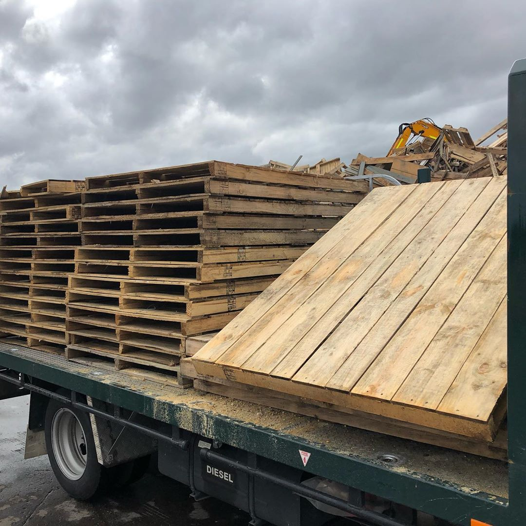 2.06 #ton of #pallets #recycled #Perth #westernaustralia # ...