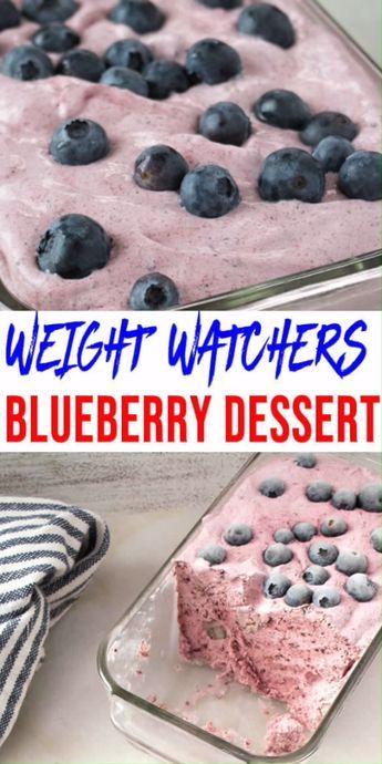 BEST Weight Watchers Dessert! WW Blueberry Idea –