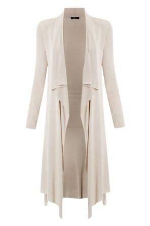 Women's Long Waterfall Front Cardigan ~ | Fashion | Pinterest ...