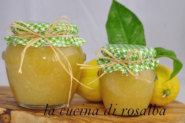 Marmellata Di Limoni Di Sicilia Ricetta Marmellata Ricette E