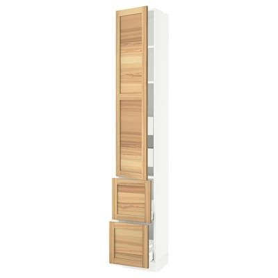 Best Ikea Vadholma Brown Stained Ash Wine Shelf Drawers 640 x 480